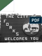 Poster - Forks Sign