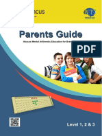 Indian Abacus course Parents Guide