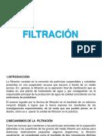 9.- FILTRACION