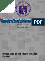 TATP_Orientation on YFD and SGP