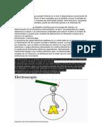 ELECTROSCOPIA