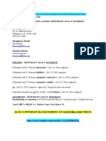 Jack n Peterson Florida Bar Complaint