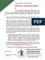 Comunicado Ref Unidades_Cond. Resid. Vila Felice