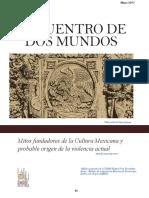 Encuentro de dos mundos, mitos fundadores de la cultura mexicana / Carmen Trejo