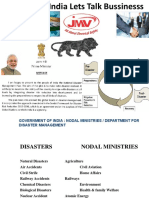 Early Warning –Disasater Management Presentation by JMV LPS (1)