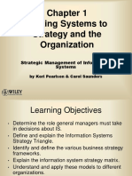 Linking Systems to Strategy and the Organization