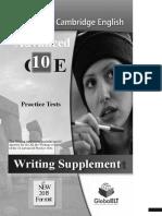 Cae 10 Writing Tests 2015