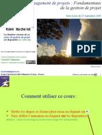 5218563 Cours de Gestion de Projet Les Fondamentaux