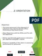 RPMS Re-Orientation (Enhanced)