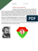 Biografía Al Señor Nicolas Infante Díaz