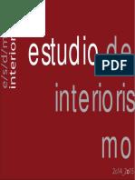 Estudio Interiorismo Portfolio 14-15