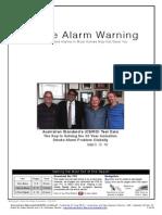 Smoke Alarm Warning - Australia-New Zealand Version
