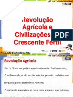 Revolução Agrícola e Civilizações Do Crescente Fértil