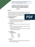 Informe de Campo Llacuash