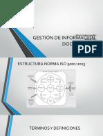 Información Documentada ISO 9001 2015