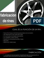 Exposición Proceso de Fabricacion de Rines