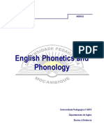 Fonetica e Fonologia Do Ingles