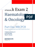 Haematology and Oncology Mock