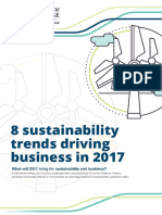 8 Sustainability Trends Driving Business in 2017