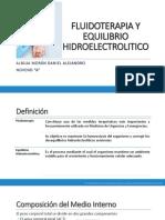 1.-Fluidoterapia y Equilibrio Hidroelectrolitico Farmacologia 1er Parcial