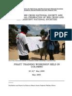 PHAST Training in Sri Lanka Report