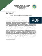 Conclusion Bioquimica
