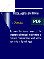 9notice, Agenda & Minutes