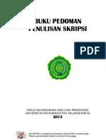 BUKU PEDOMAN SKRIPSI FKIP 2014.pdf