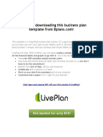 Business Plan Template 2017