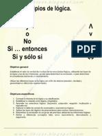 PRINCIPIOS DE LOGICA