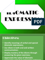 IDIOMATIC EXPRESSION.ppt