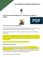 Analizando La Realidad Inmobiliaria y La Inversion 2016 - Opinion - 22890