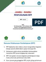 Rambu Rambu Penyusunan Rpp Rev