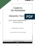 Caderno de Atividades Desenho Técnico - Escola ELECTRA - 2016-2017