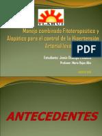 Fitoterapia Alopatia Para Hipertencion