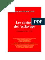 Marat Chaines Esclavage