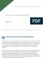 Fixed Income Presentation 08-01-2017