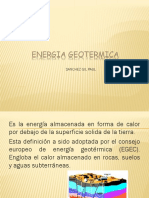 Energia Geotermica Diapos