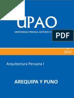 Arequipa y Puno