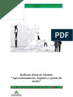 UF 07 PRA Reflexao Final de Aprovisionamento Logistica e Gestao de Stocks