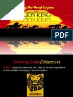 lion king food web pptx