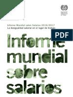 Informe Mundial de Salarios 2016 - 2017