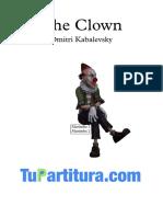 The Clown - Partitura y Partes