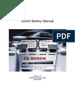 Bosch Batterie Handbuch