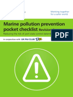 MARPOL Pocket Checklist - Revision 4