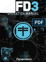 BFD3 Operation Manual