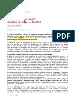 Cristina Guelfi - Il Ruolo Del Repechage Alla Luce Del Dlgs 23_2015