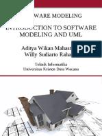 Introduction Software Modeling Uml