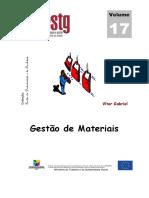 Manual 17 - Gestão de Materiais