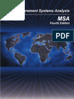 MSA Reference Manual 4th Edition
